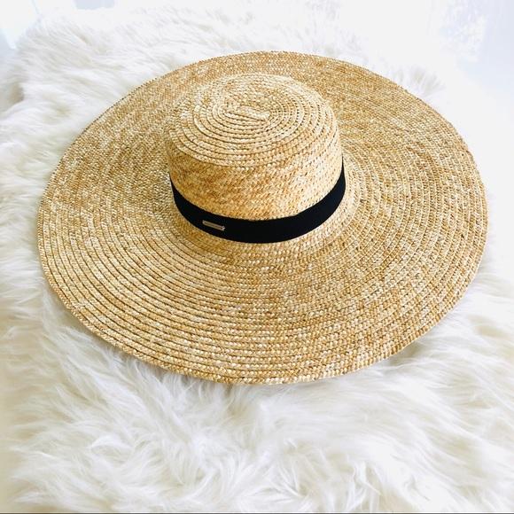 cf5696d2 Gigi Pip Accessories | Gwen Wide Brim Sun Hat Nwot | Poshmark